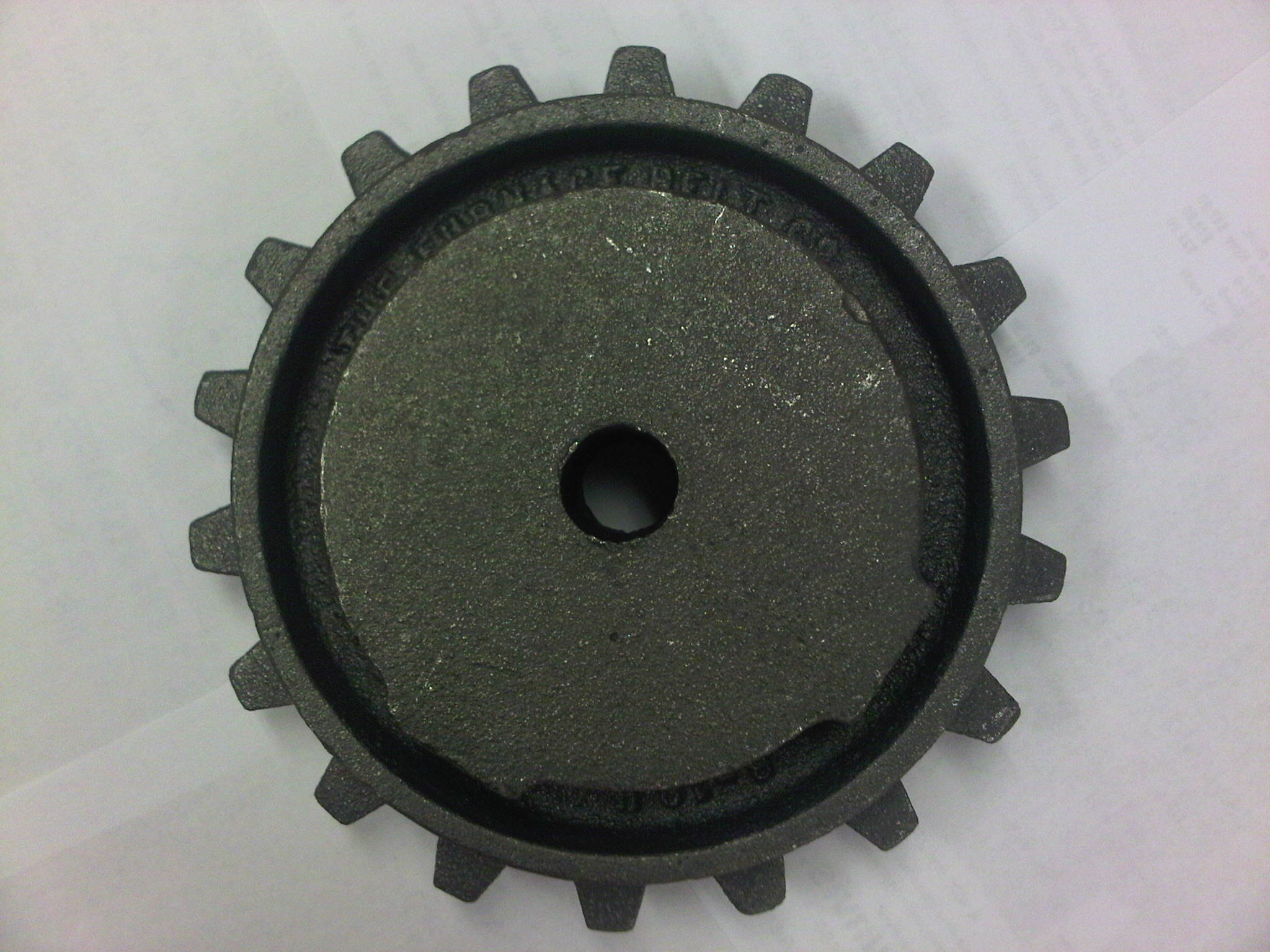 6-18 Heavy Duty Cast Iron Sprocket